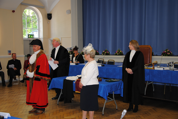 Cllr Borg-Neal becomes Mayor