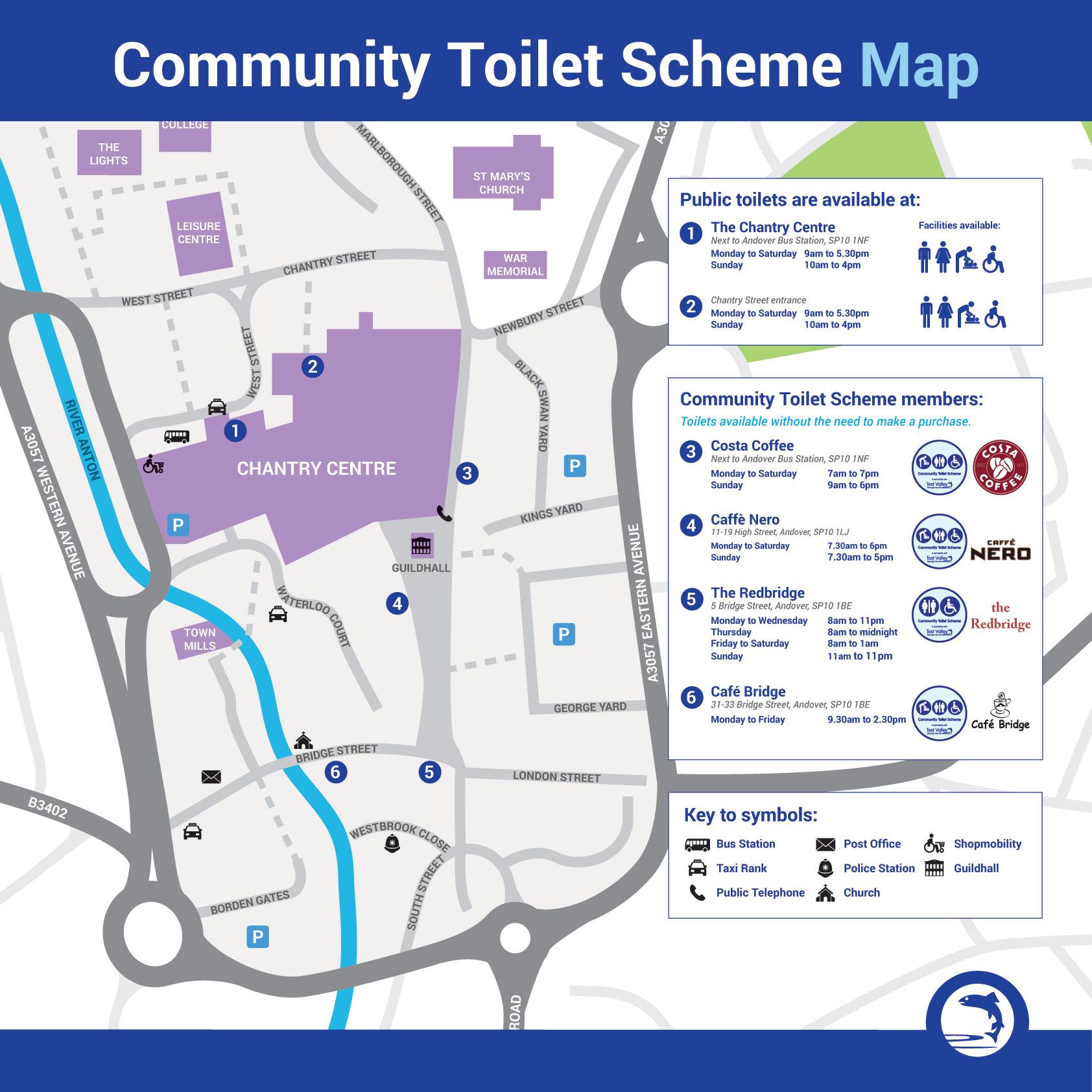 Community Toilet Scheme Q&A | Test Valley Borough Council on