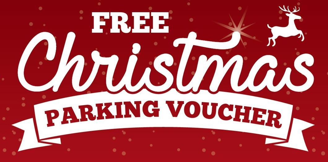 Christmas parking voucher