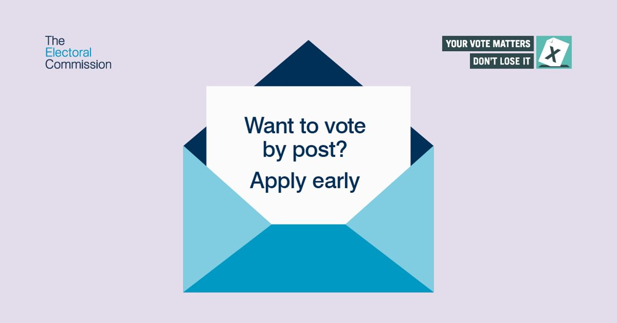 Vote by Post image