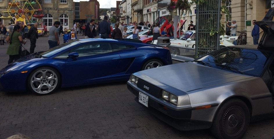 The Andover Festival of Motoring is roaring into Town!