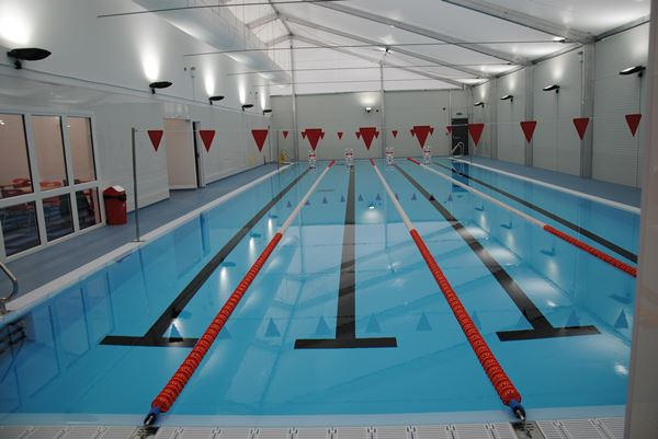 Temporary pool is open | Test Valley Borough Council